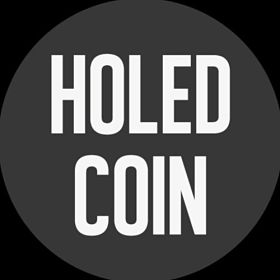 holed coin